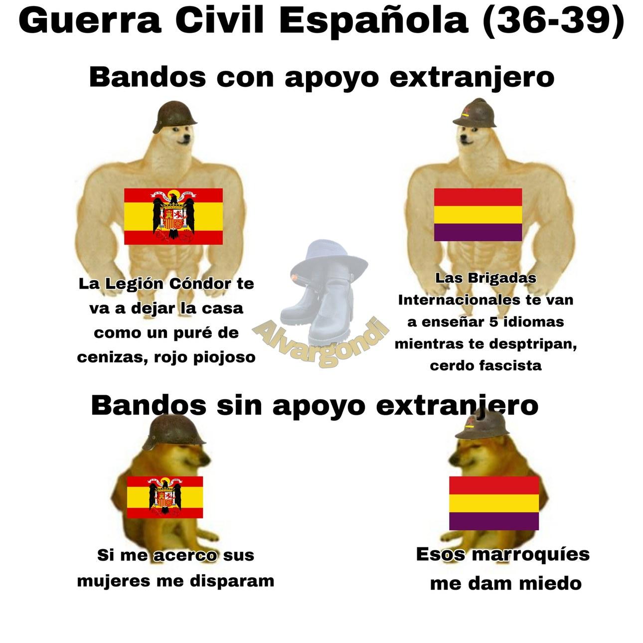 Framcisco Franco vs Miguelm Azamña - meme