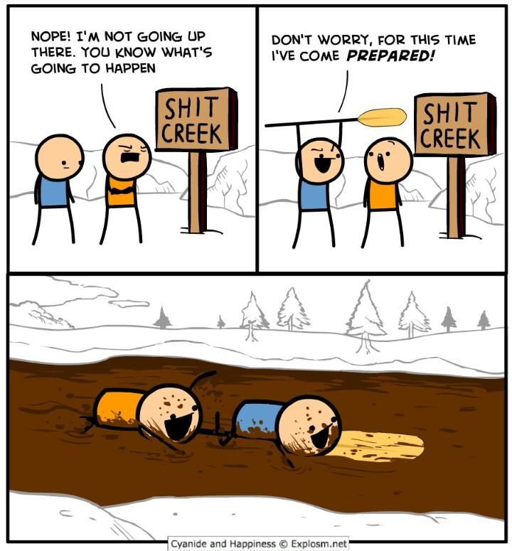 Best illustrated pun I've ever seen. - meme