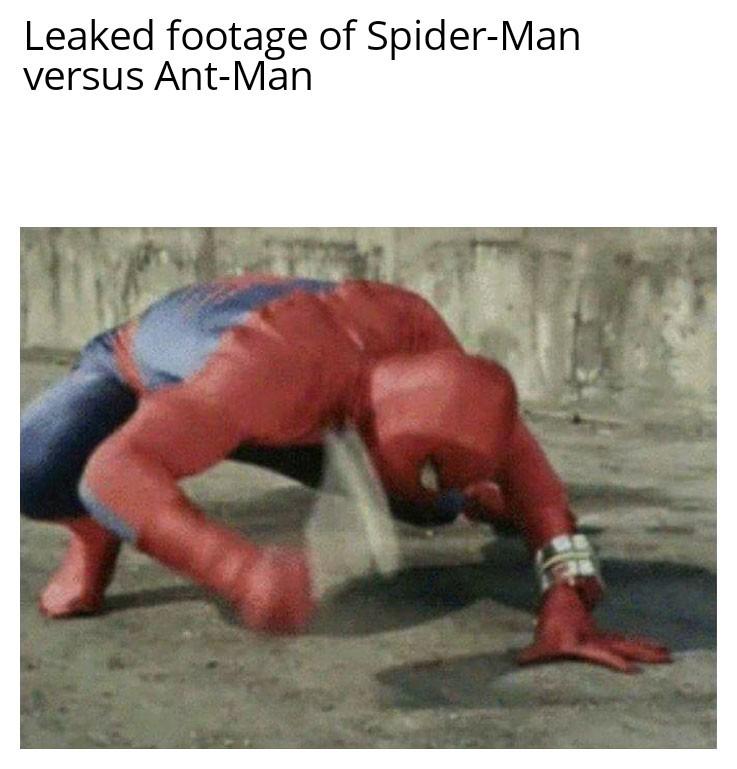 Rip ant man - meme