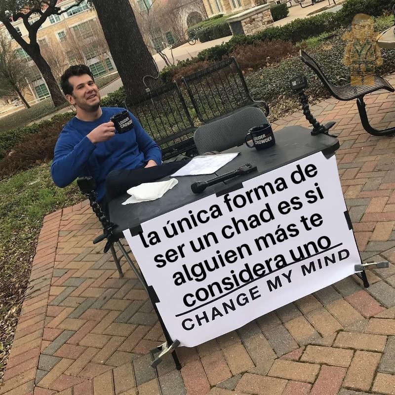 Sólo una opinión y ya - meme