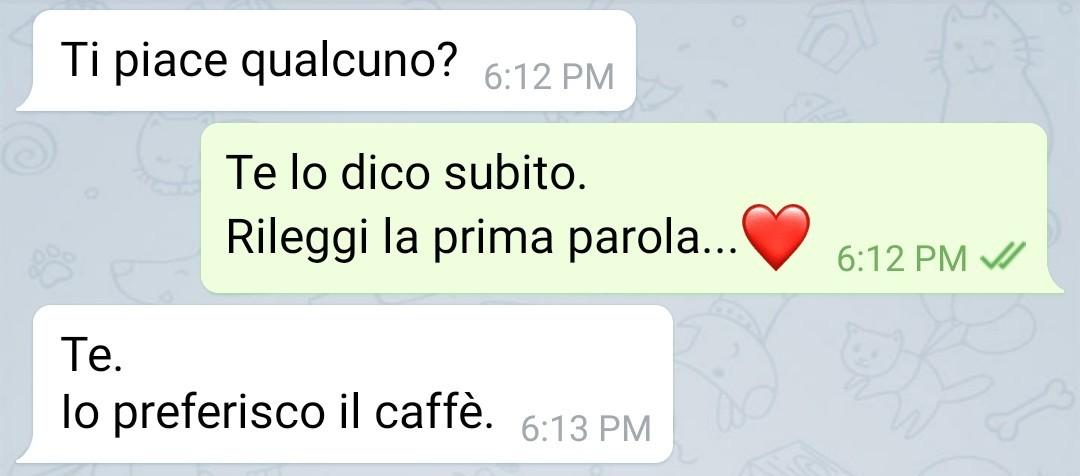 Tè o caffè? - meme