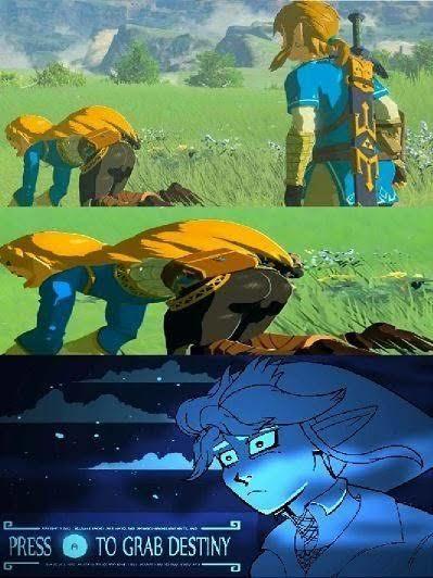 Detente Zelda!! - meme