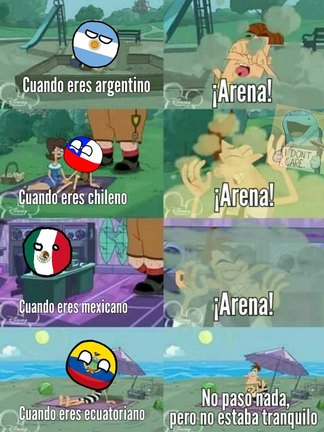 Ecuadorball - meme