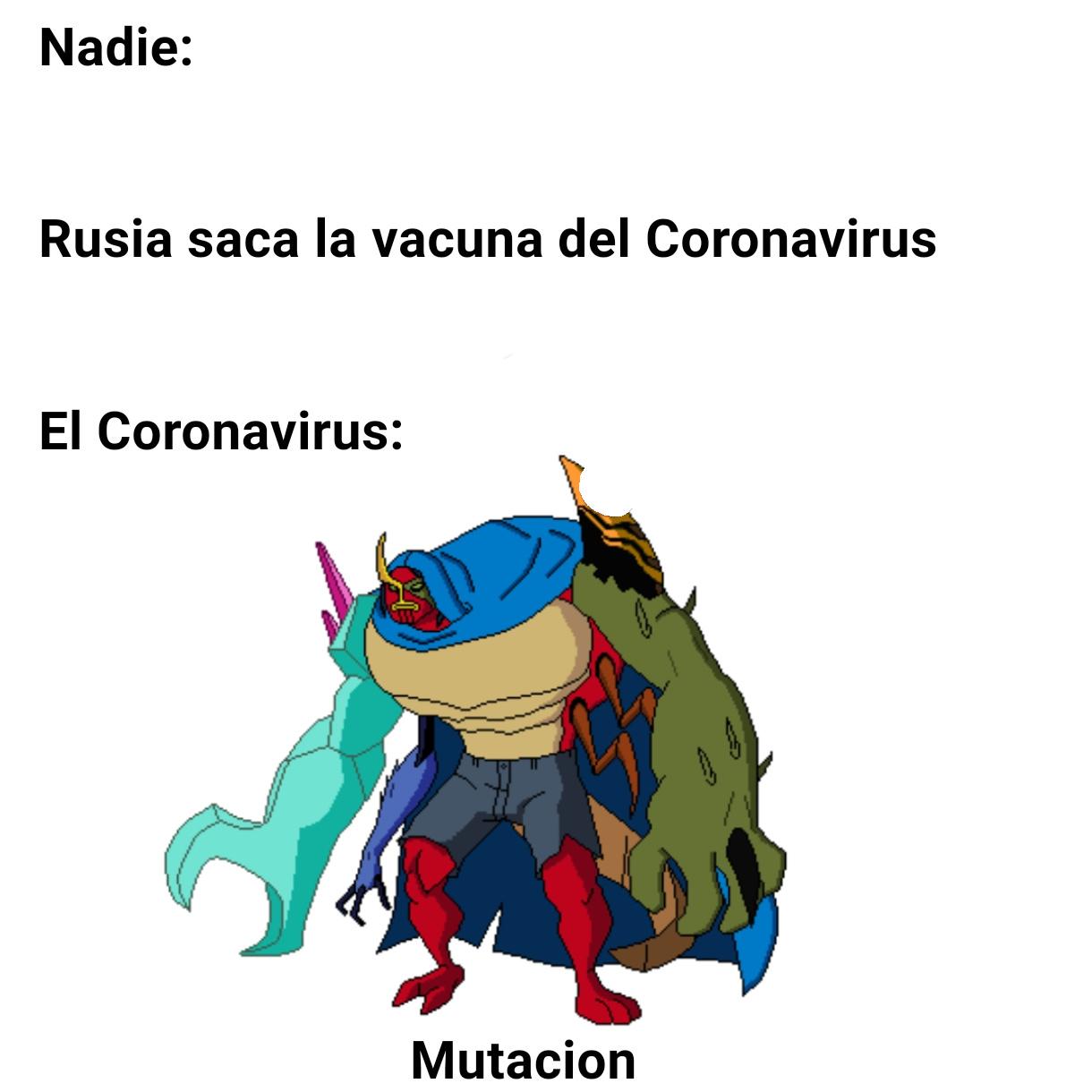 Mutacion ._. - meme