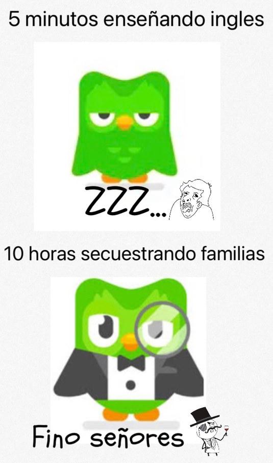 Duolingo sexo - meme