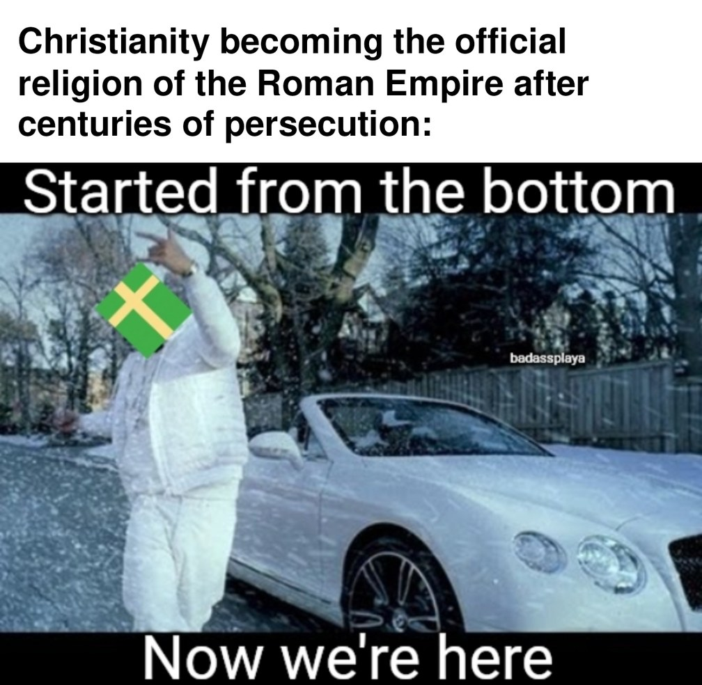 Time to subjugate the other religions now - meme