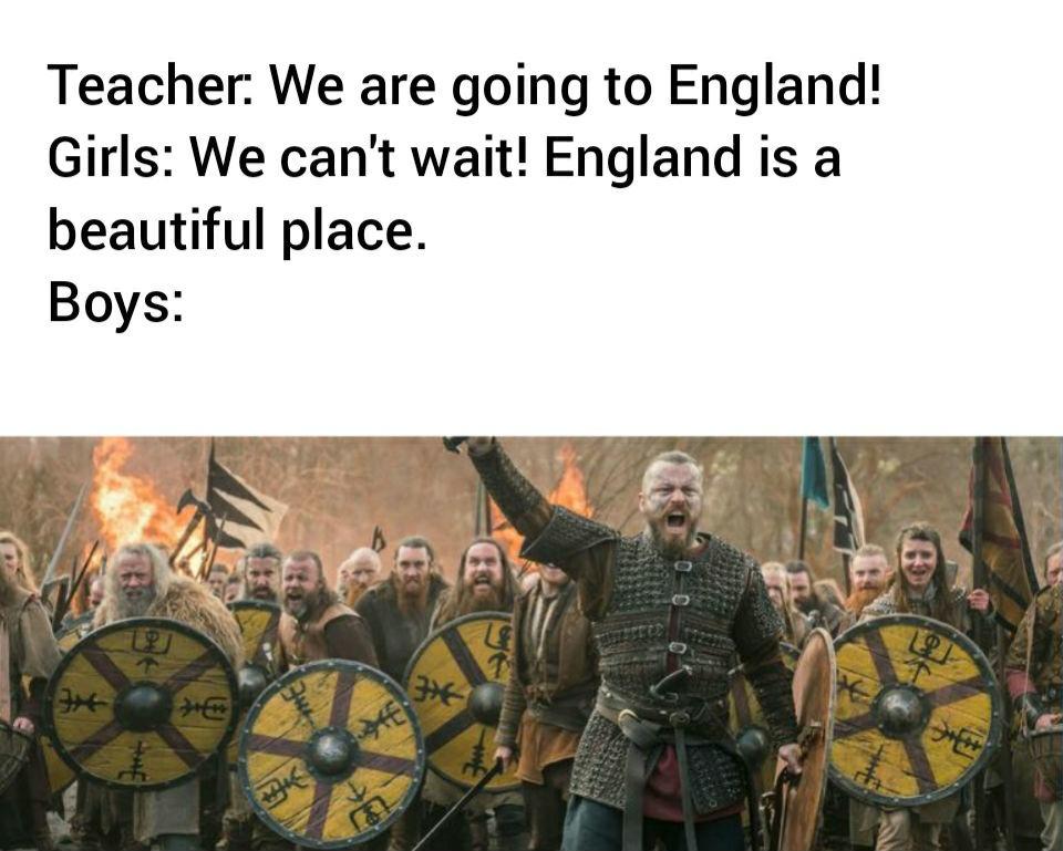 Time to raid, boys - meme