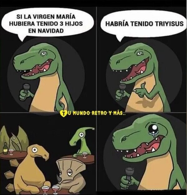 Los chistes malos son tan viejos como los dinosaurios - meme