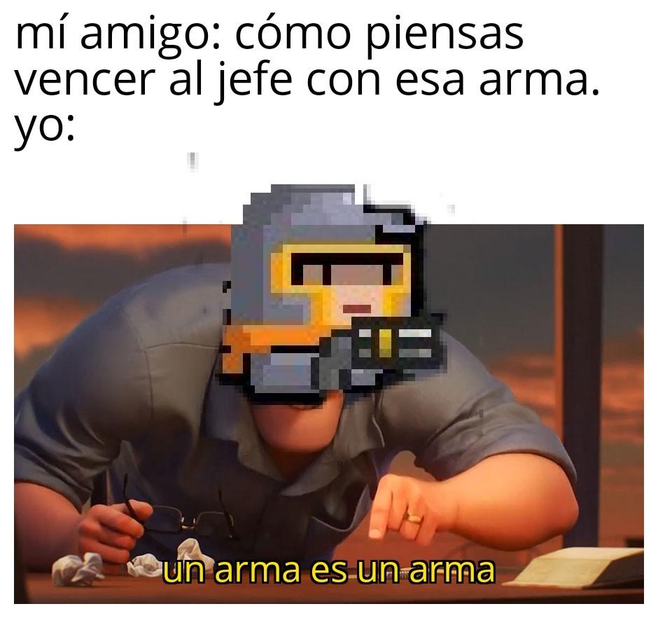 Pistola mala - meme