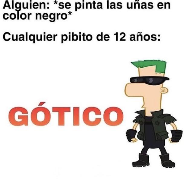 Gotico - meme