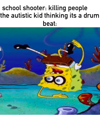 dum dum bang bang sounds like a rap god or something - meme