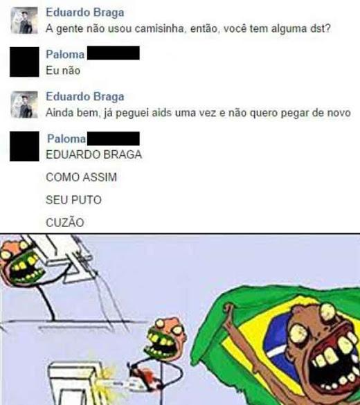 Eduardo Vacilão kkkkkkkjjj (Negativem se for repost) - meme