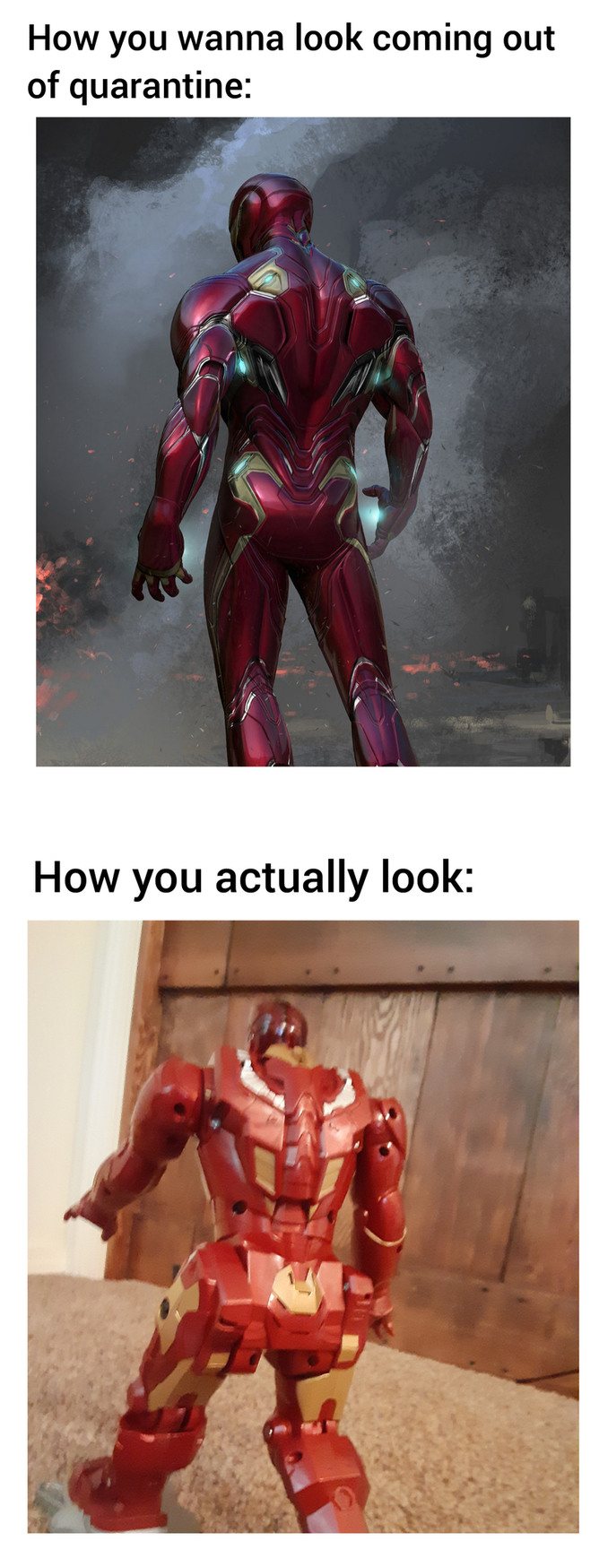 Iron man do be thicc tho - meme
