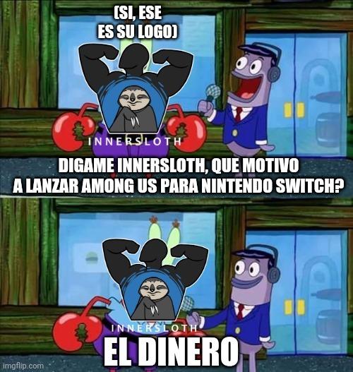 Among us en nintendo switch - meme