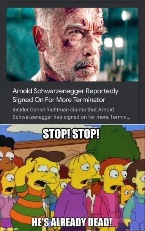 Don't do it Arnold - meme