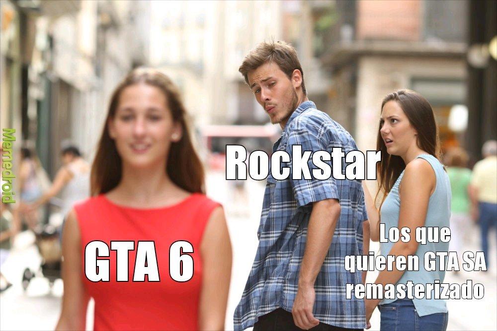 GTA 6 o el San Andreas remasterizado?? - meme