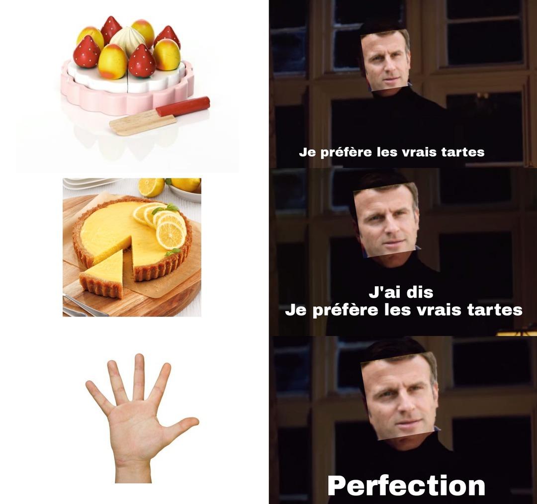 La tarte 2 - meme