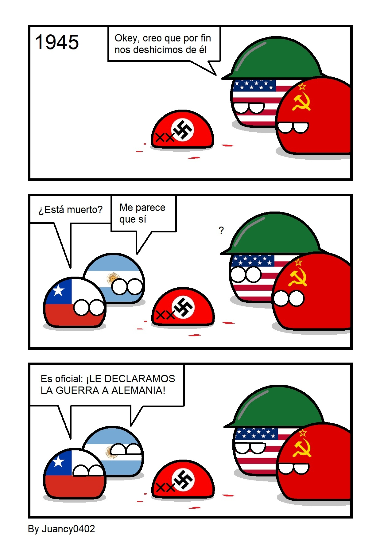 Toda Latinoamérica hizo lo mismo - meme