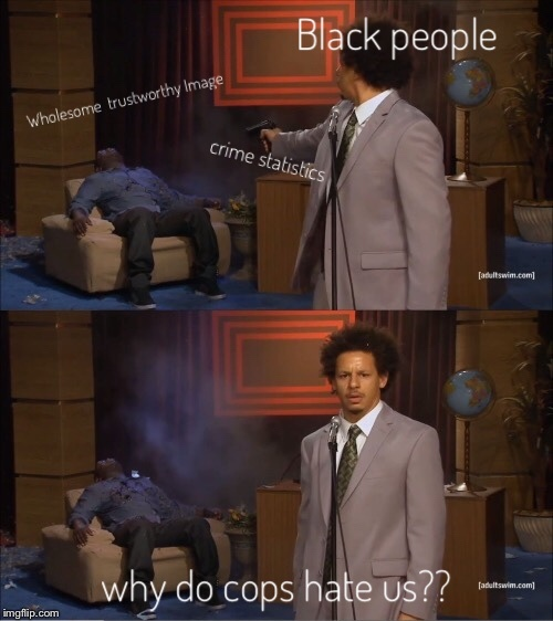 Black lives matter - meme