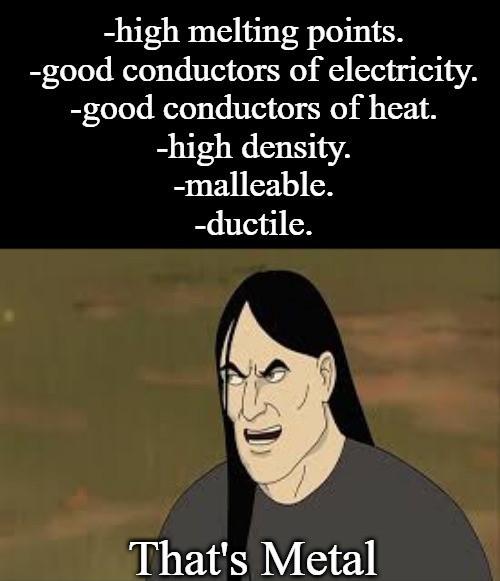 That's so metal - meme