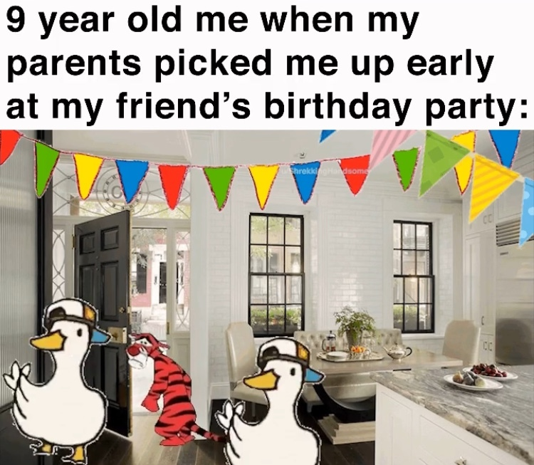 I haven't even had cake yet - meme