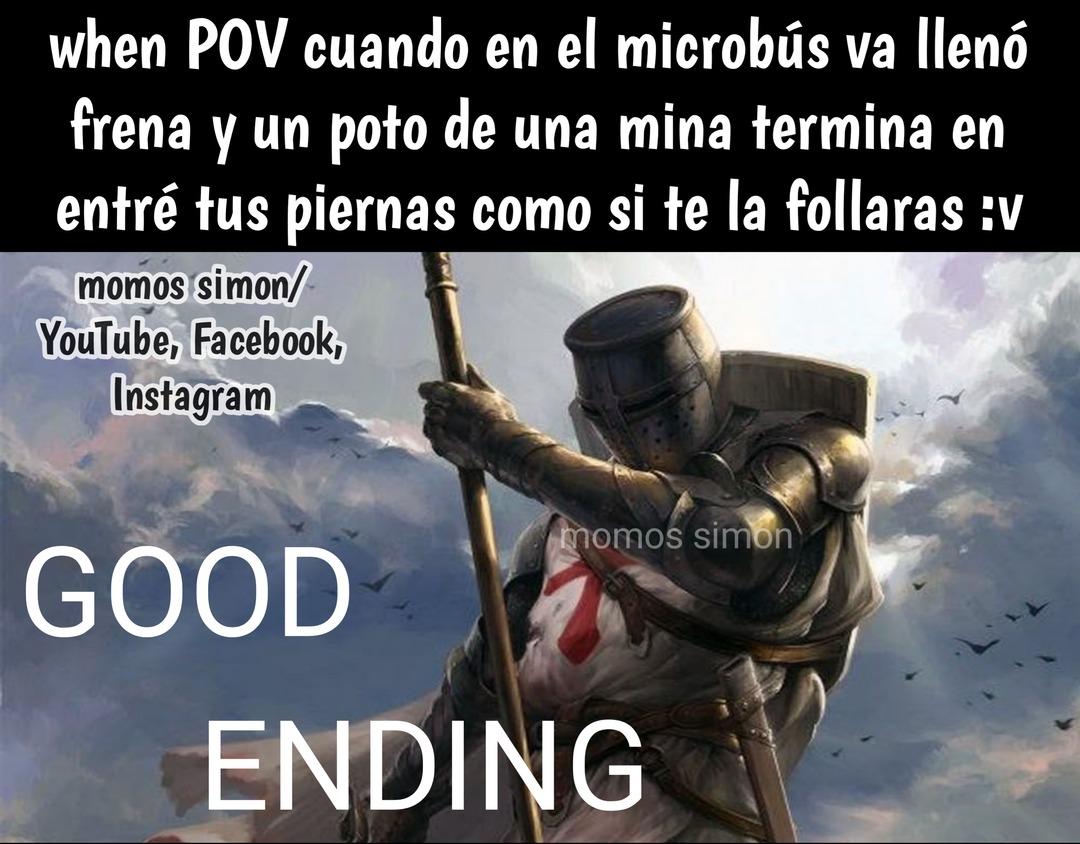Eding pero de los god - meme