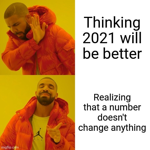 Jesus people stop thinking things will change. - meme