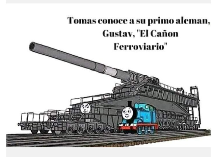 Thomas la bomba termonuclear - meme