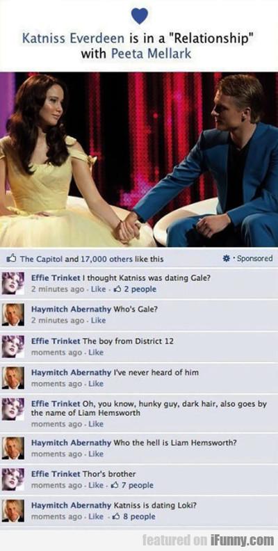 Katniss and Loki  - meme