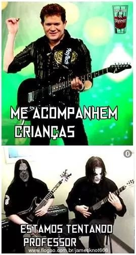 The Master Of Metal - meme