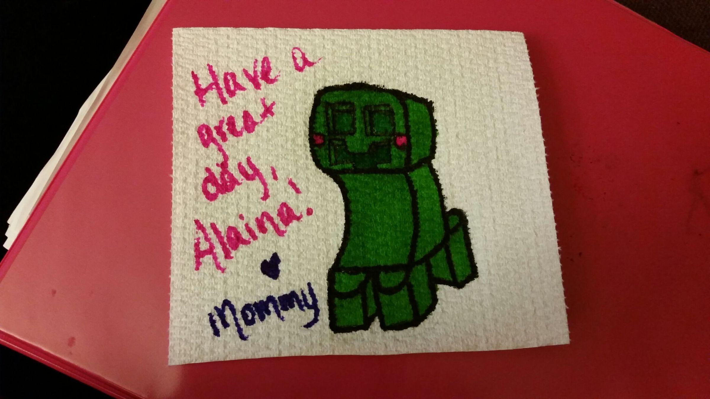napkin drawing day 2 - meme