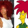 Rihanna X sideshow bob