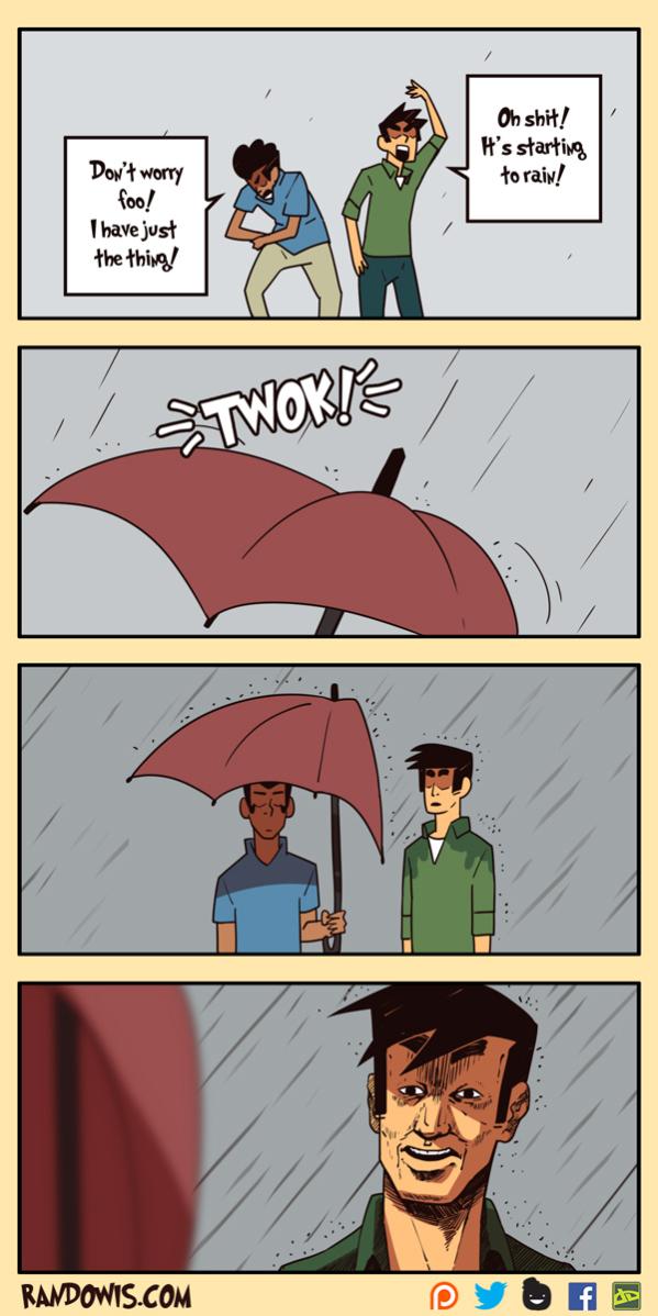 Rain - meme