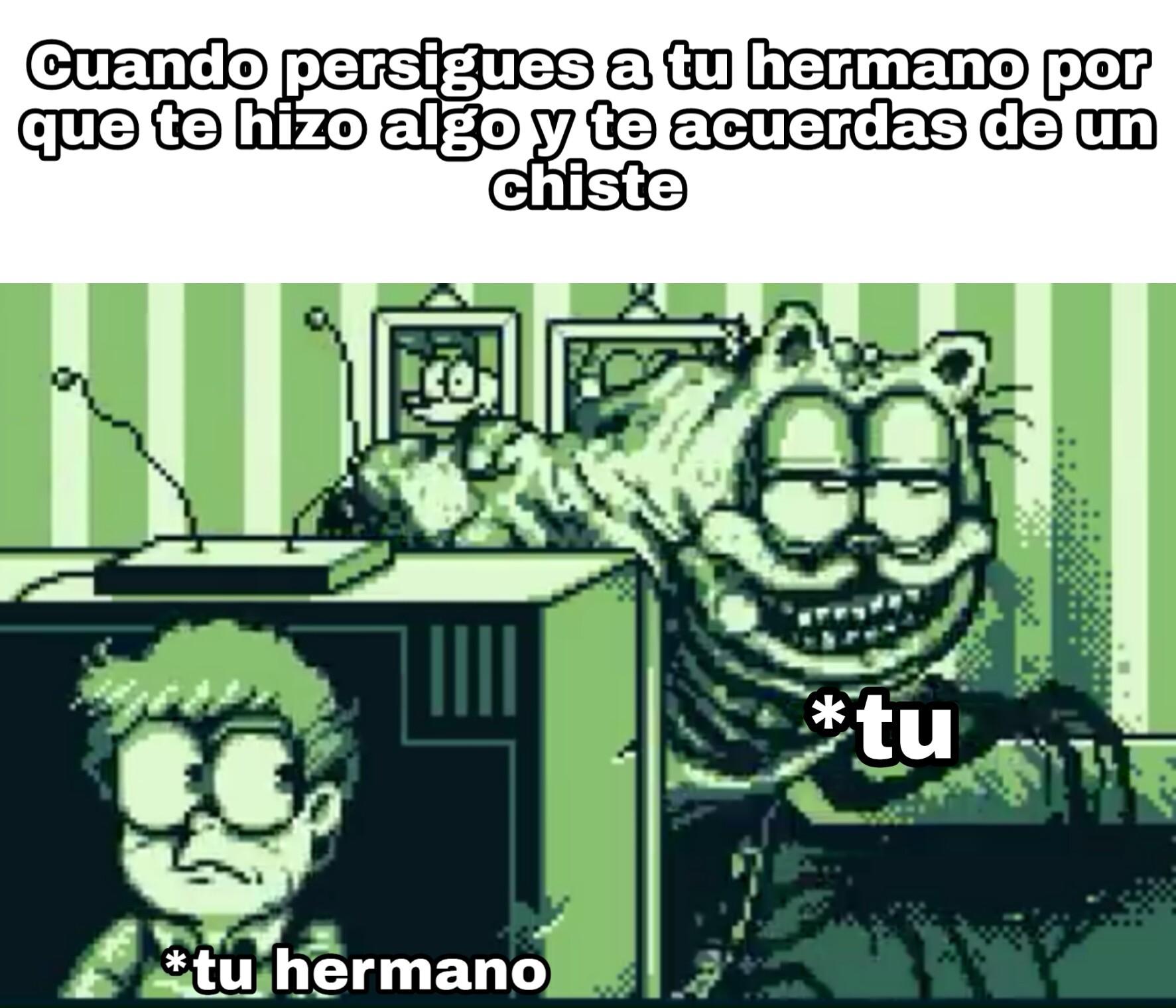 Que bonito el Garfield :D - meme