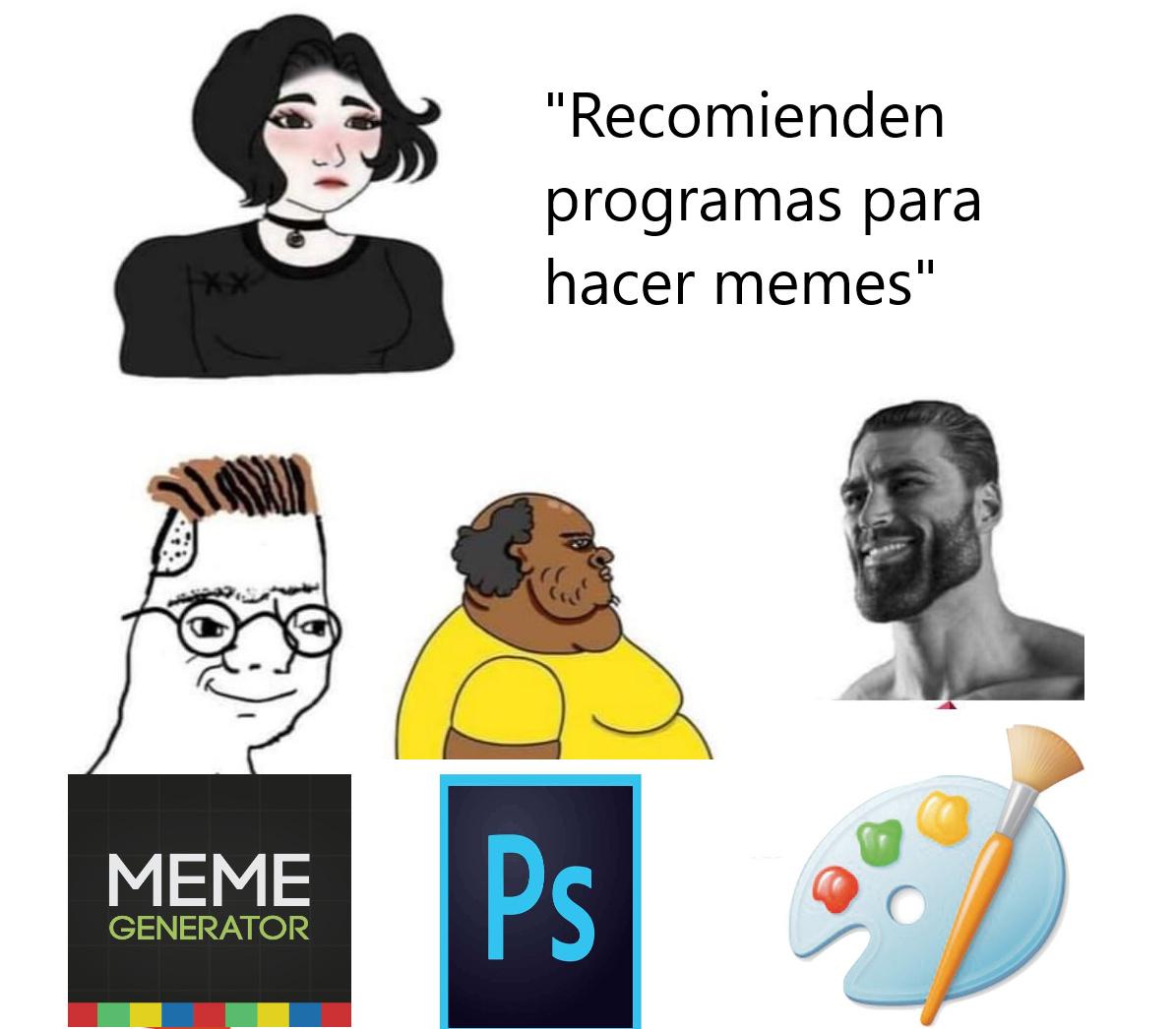 echo en paint - meme