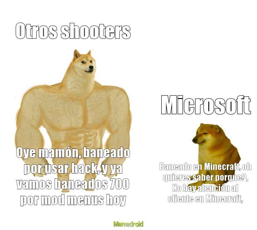 Microsoft mamón - meme