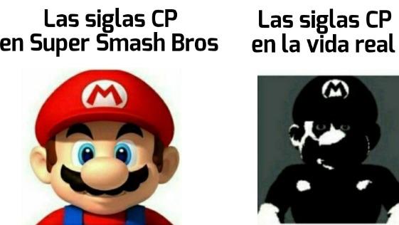 En Smash significaba Computer Player - meme