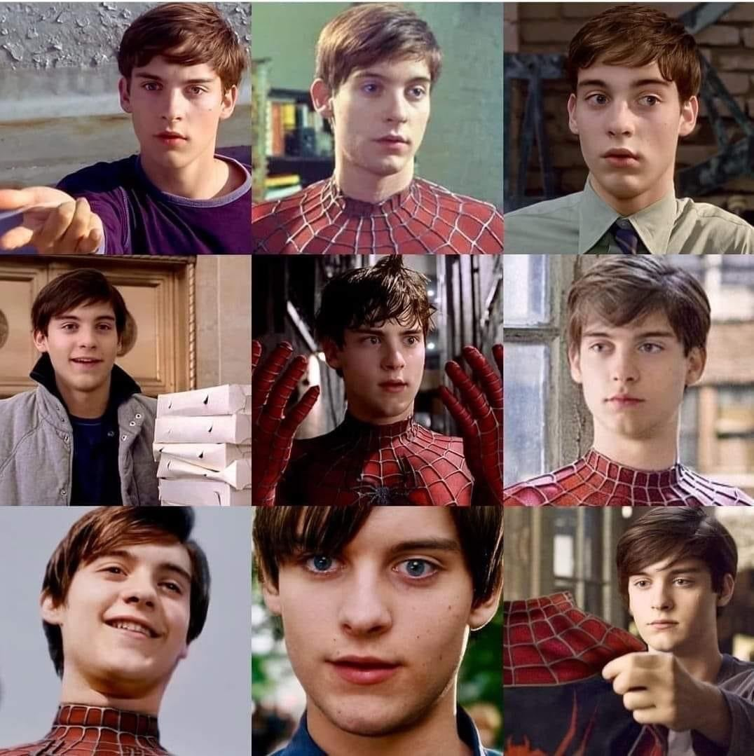 Age accurate Spiderman.. is this cursed or dope? - meme