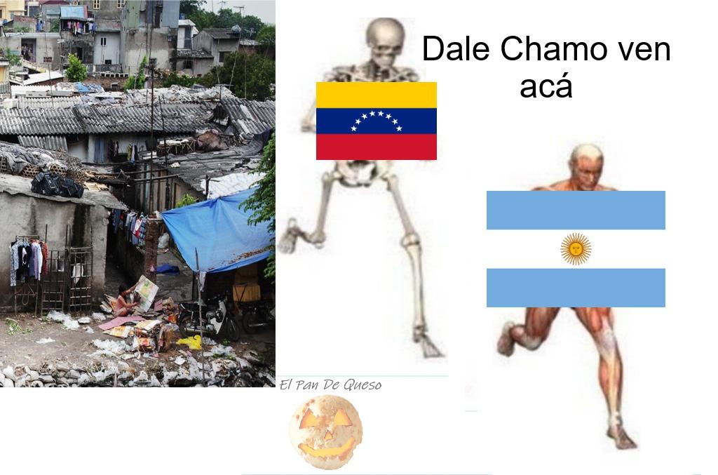 Colombia no está muy lejos - meme