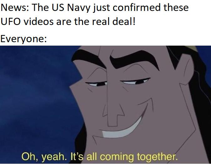 Third comment has to raid Area 51 - meme