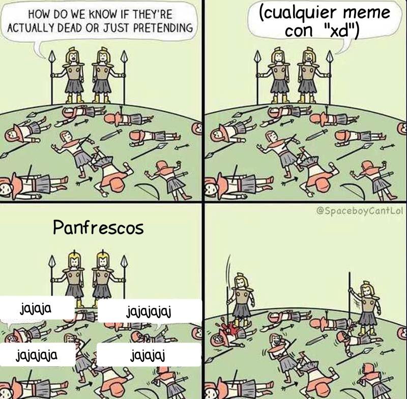 Quien le de negativo es gai - meme