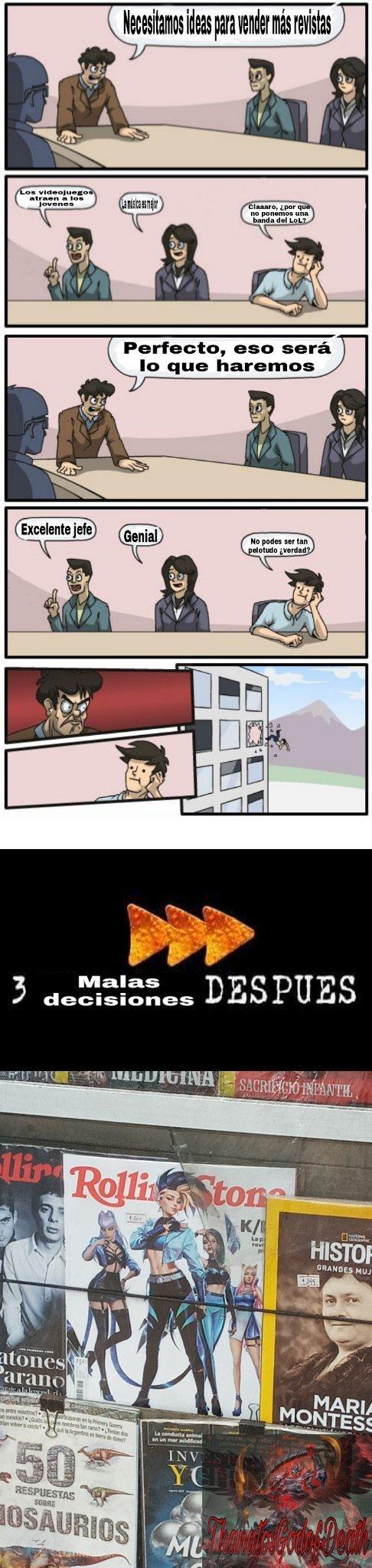 Usen el zoom infinito - meme