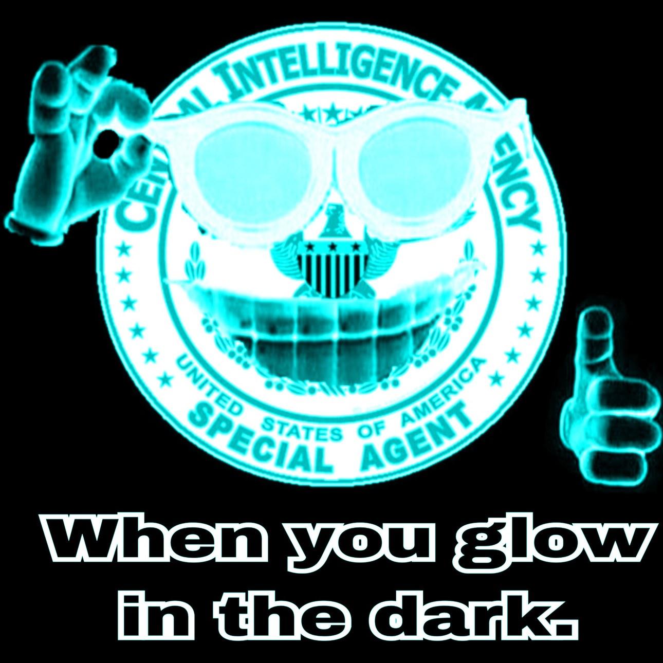 The CIA Gingers glow in the dark - meme