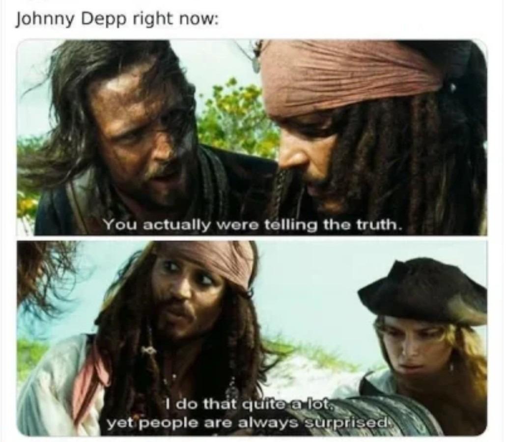 Poor Depp - meme