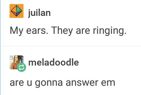 Answer me - meme