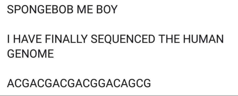 DNA joke - meme