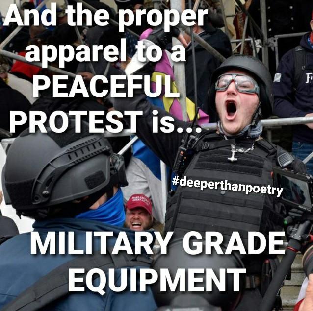 #Peaceful #protest - meme