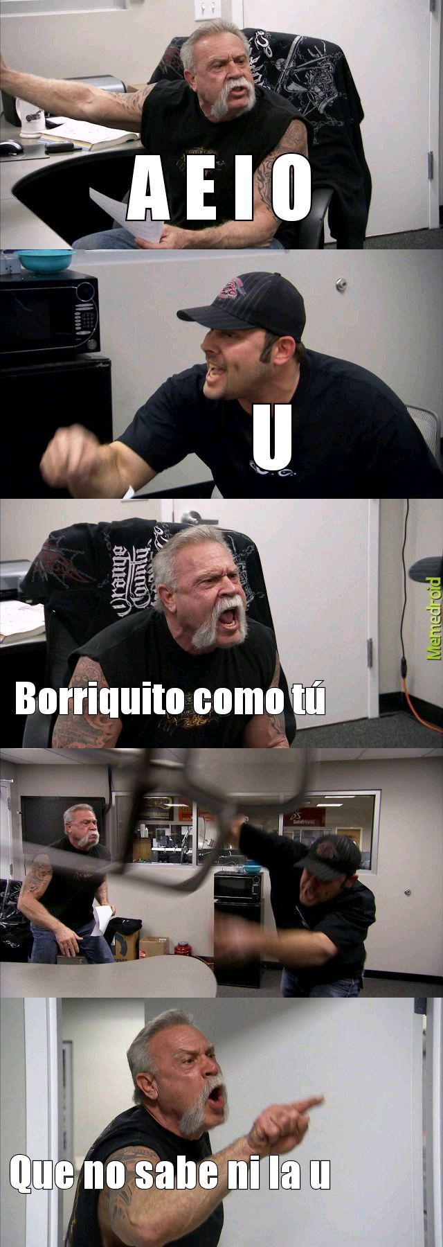 como odiaba eso - meme