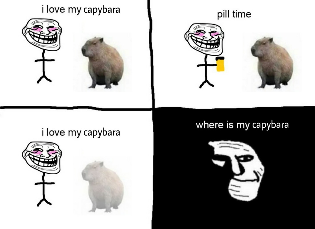 pill time :( - meme