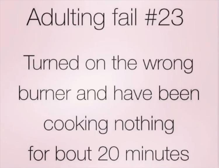 adult fail - meme